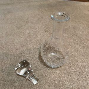 Dining - Cristal Decanter for hard liquor- Great condition